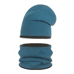 Komplet dziewczęcy czapka + tuba EV030