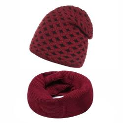 Komplet damski czapka + komin Z-01