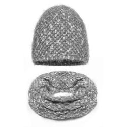 Komplet damski czapka + komin Z-04